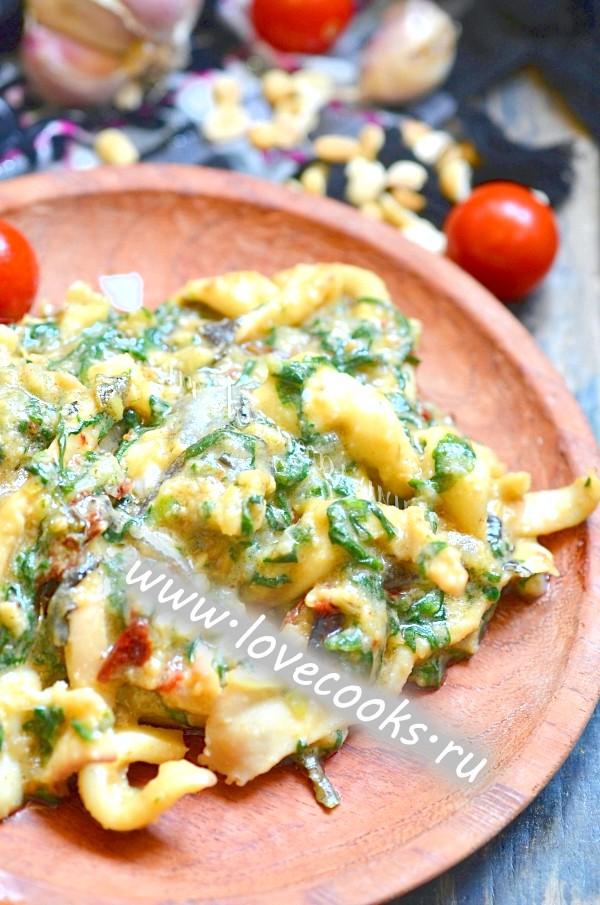 Рецепт смачного африканського соусу з риби та шпинату