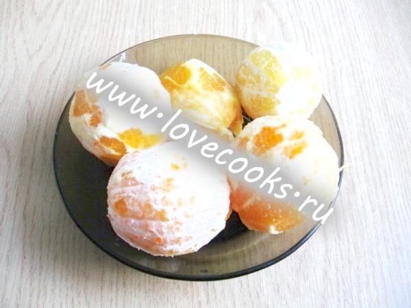 Апельсини очищені