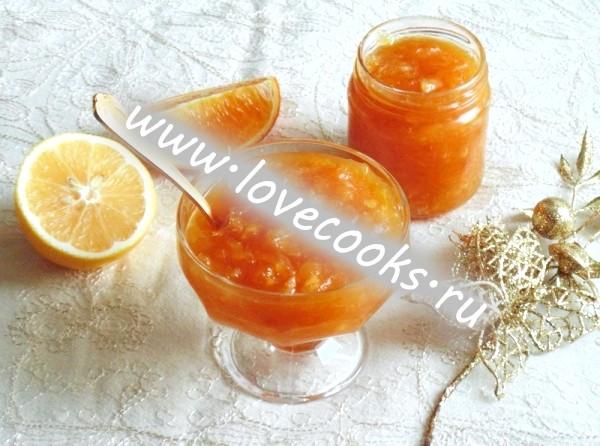 Фото апельсинового джему