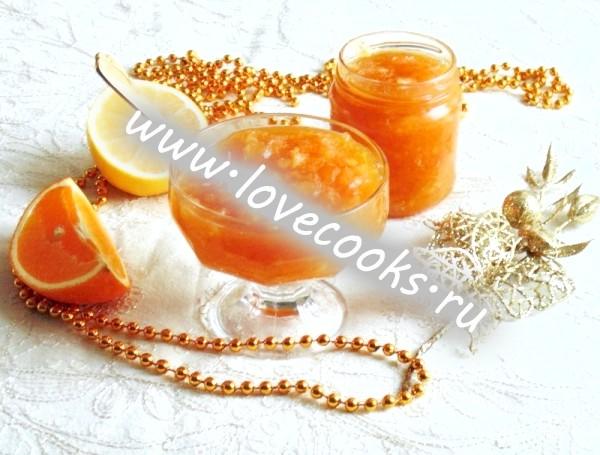 Рецепт джему з апельсинів