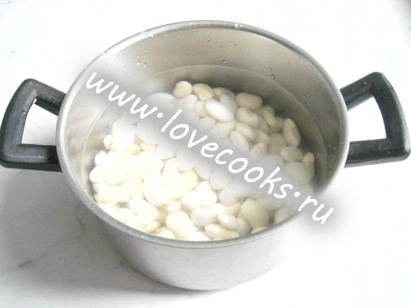 Квасолевий суп без м'яса