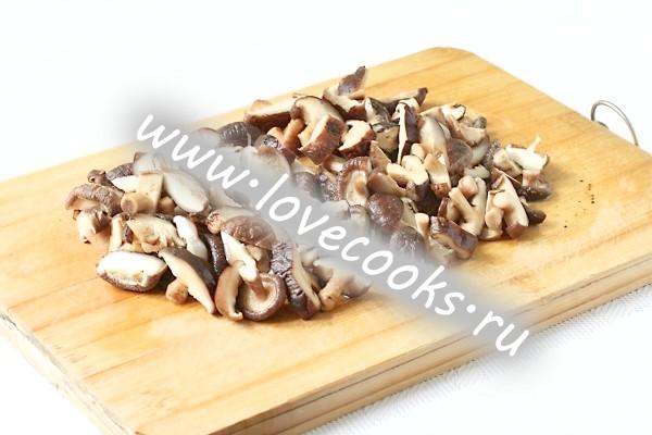 Грибний суп з сушених грибів