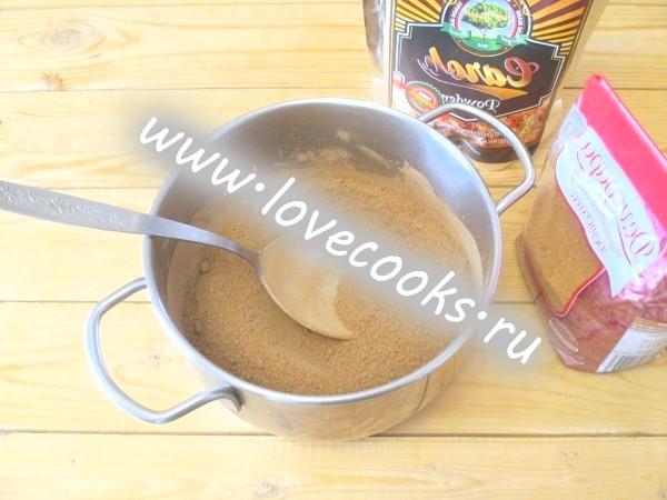 Какао крем-лікер / Creme de Cacao