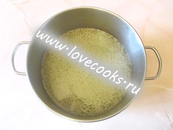 Крем суп з брокколі