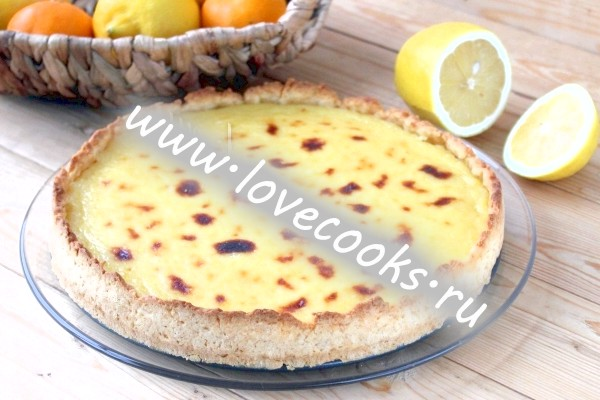 Фото лимонного торта Жираф