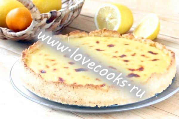Рецепт лимонного торта