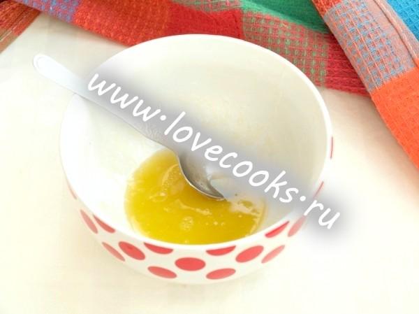 Овочевий салат з медовою заправкою