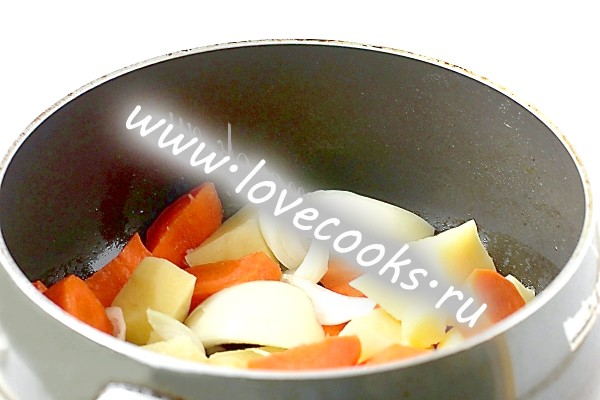 Овочевий суп пюре