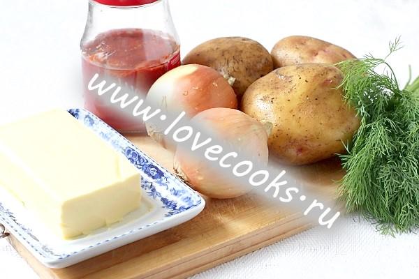 Паровий рулет з картоплею