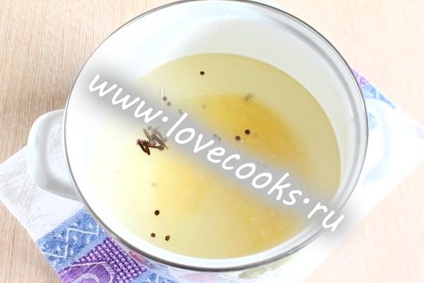 Перець солодкий в медовому маринаді