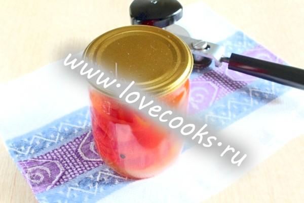 Перець консервований з медом, фото