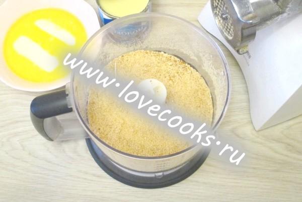 Тістечко «Картопля» з сухарів