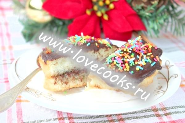 Рецепт тістечок Буше