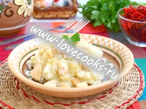 Куряча підлива до картоплі