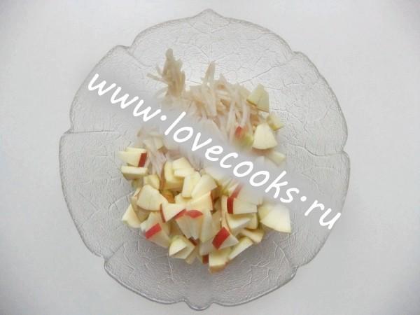 Porreesalat - салат із цибулею-пореєм