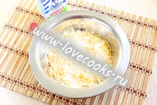 Вершковий соус для спагетті