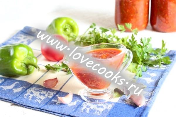 Рецепт соусу Сацебелі