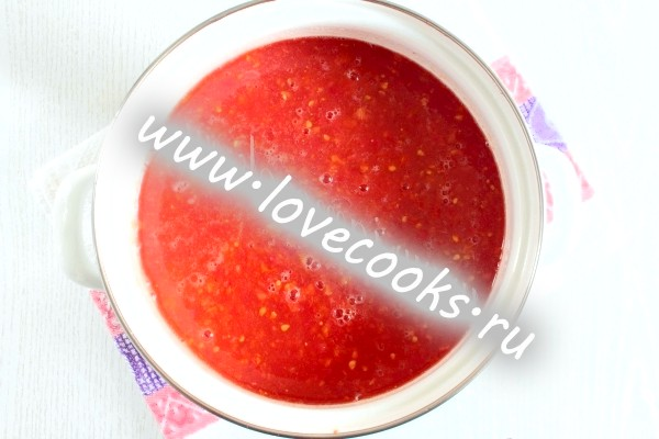 Томатно-цибулевий соус на зиму