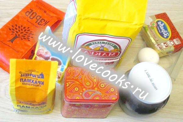 Інгредієнти для торта Каракуль