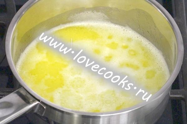 Масло з водою і сіллю