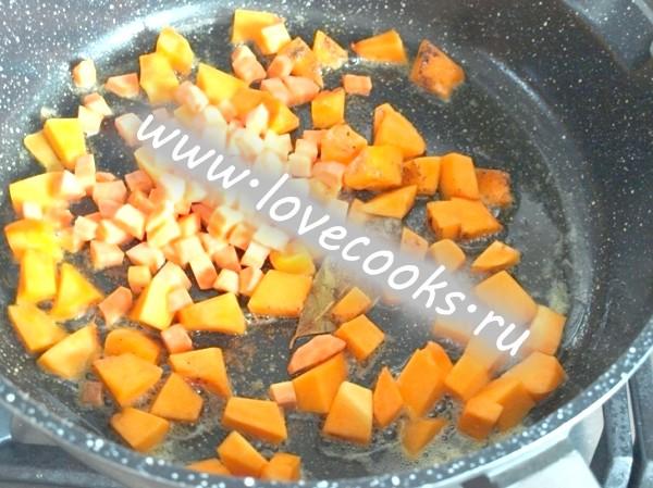 Гарбузово-морквяний суп з маком