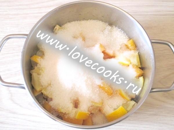 Варення з гарбуза з лимоном